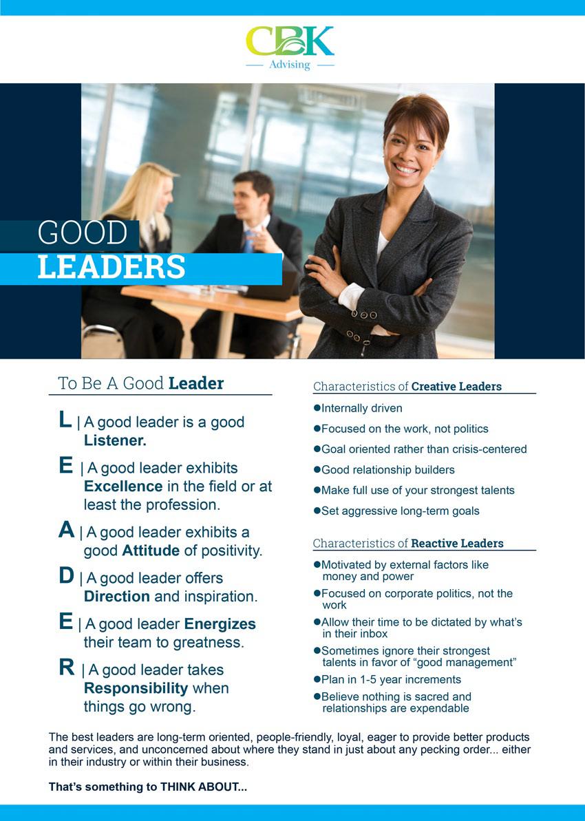 CBK Advising LEADER