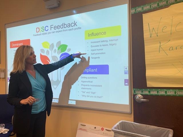 Karen Teaching